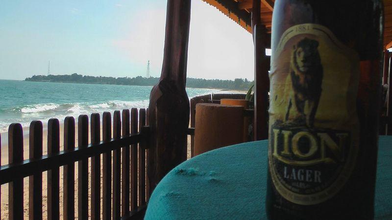 Lion-Bier in Sri Lanka