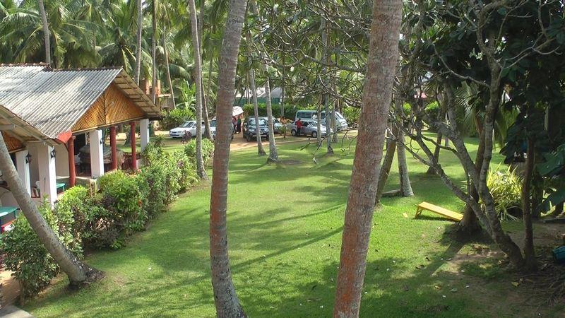 Gepflegte Anlage im Sea View Resort (Unawatuna)