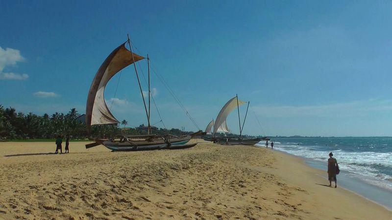 Strand von Negombo / Sri Lanka