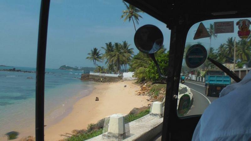 Mit dem Tuktuk nach Unawatuna