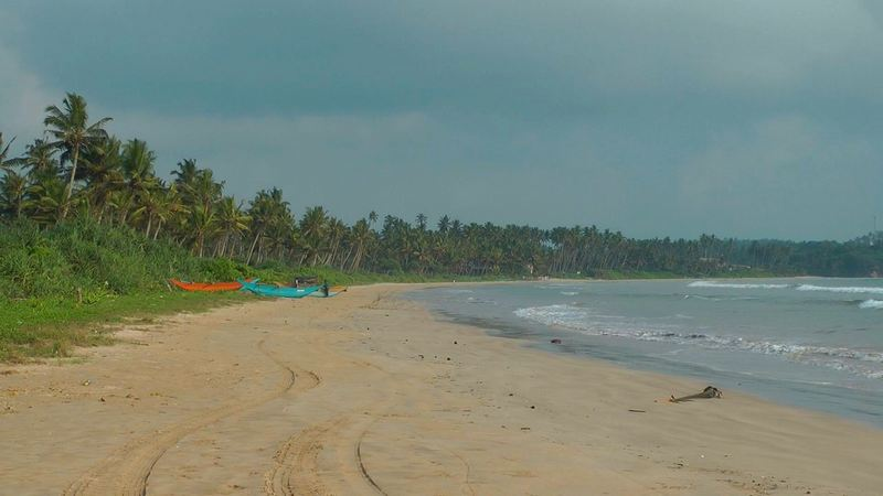Strand in Weligama